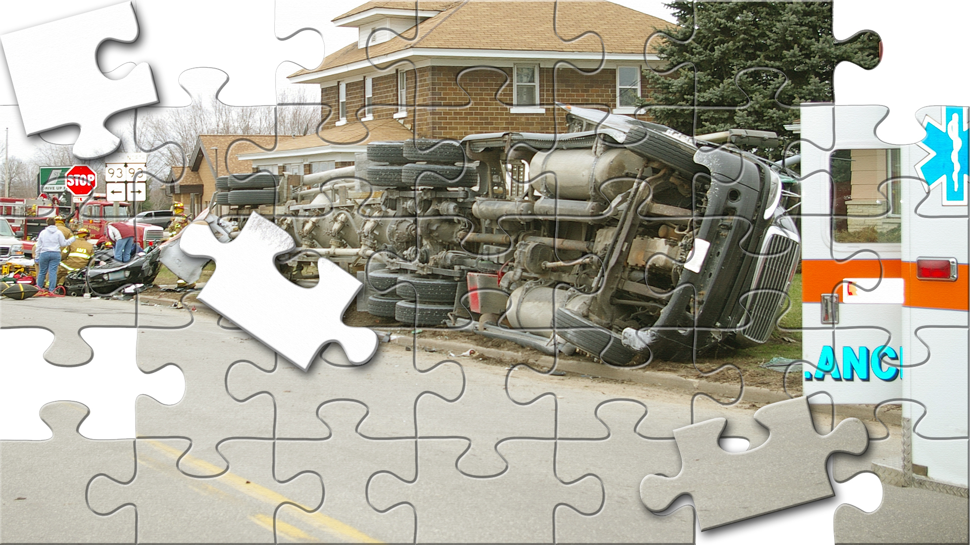 <p>Putting the pieces of the puzzle together one step at a time&#8230;</p>
